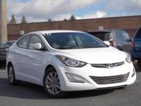 2016 Hyundai Elantra SE 37/28 Highway/City MPGAwards: