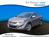 This 2016 Hyundai Elantra is complete with top-features
