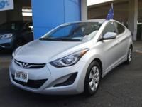 This outstanding example of a 2016 Hyundai Elantra SE