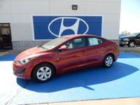 We are excited to offer this 2016 Hyundai Elantra. When