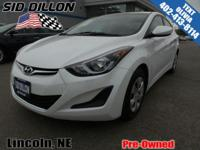 Trustworthy and worry-free, this 2016 Hyundai Elantra