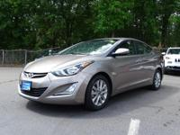 HYUNDAI CERTIFIED - One Owner SE Elantra comes with