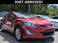 New Price! This Elantra features:  Clean CARFAX.