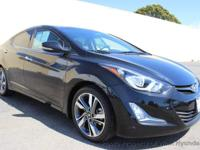 This 2016 Hyundai Elantra 4dr Limited Sedan 4D features