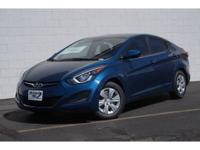 2016 Hyundai Elantra, with less than 9k miles, pretty