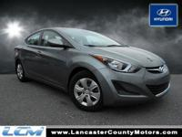 Elantra SE, *LOW MILES, for a 2016!!*, *FULL SERVICE