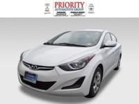 This 2016 Hyundai Elantra SE is complete with