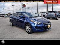 SE trim. CARFAX 1-Owner. FUEL EFFICIENT 38 MPG Hwy/28