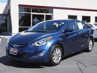 ** 2016 ** Hyundai ** Elantra ** SE ** One Owner **