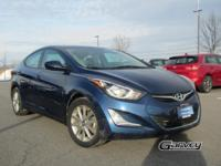 This 2016 Hyundai Elantra is equipped with the SE trim