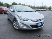 New arrival! 2016 Hyundai Elantra SE! This vehicle has