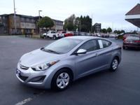 For a smoother ride, opt for this 2016 Hyundai Elantra