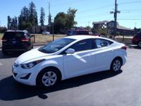 This WHITE 2016 Hyundai Elantra SE might be just the 4