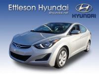 Options:  2016 Hyundai Elantra Se|4 Dr Sedan|1.8L|4