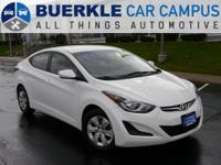 2016 Elantra SE. This outstanding, one-owner Hyundai