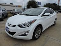 We are excited to offer this 2016 Hyundai Elantra. How