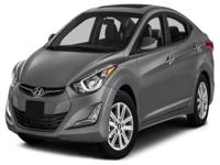 Options:  2016 Hyundai Elantra Se|This 2016 Hyundai