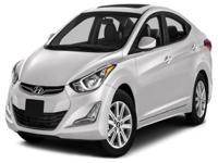 Options:  2016 Hyundai Elantra Se This 2016 Hyundai