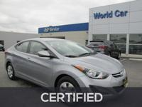 CARFAX 1-Owner, Excellent Condition. EPA 37 MPG Hwy/28