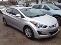 2016 Hyundai Elantra SE In Shimmering Silver. What a