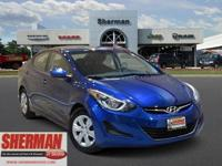 CarFax 1-Owner, This 2016 Hyundai Elantra SE will sell