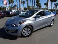 Options:  2016 Hyundai Elantra|Gray|Won't Last Long! At