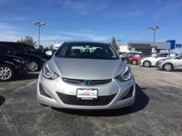2016 Certified Hyundai Elantra Se in Silver with Gray