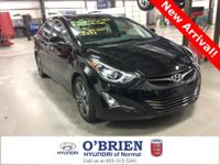 CARFAX One-Owner. Clean CARFAX. Black 2016 Hyundai