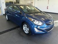 Clean CARFAX. ONE OWNER ACCIDENT FREE, Elantra Value