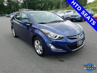 Clean CARFAX. Elantra Value Edition, 6-Speed Automatic