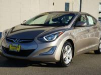Bronze 2016 Hyundai Elantra Value Edition FWD 6-Speed