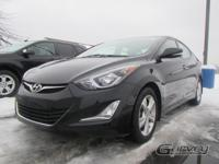 Its fluid lines set the Elantra apart from the crowd by