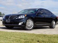 2016 Hyundai Equus Signature in Caspian Black, This