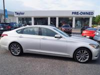 CarFax One Owner! This Hyundai Genesis is CERTIFIED!