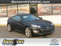 Genesis Coupe 3.8 Ultimate and Black. Navigation! You