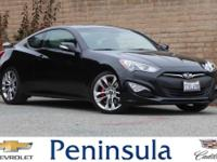 2016 Hyundai Genesis Coupe 3.8 Ultimate Caspian Black
