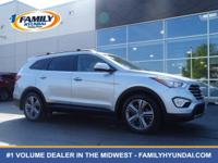 Check out this 2016 Hyundai Santa Fe Limited. Its
