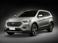 Clean 1-Owner Hyundai Santa Fe with a Clean Carfax.