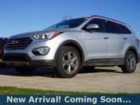 2016 Hyundai Santa Fe SE in Circuit Silver, AWD, This