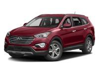 2016 Hyundai Santa Fe Becketts BlackCARFAX One-Owner.