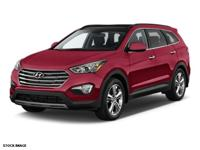 HYUNDAI CERTIFIED WARRANTY - AWD - 3RD ROW SEATING. All
