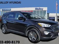 Santa Fe SE and AWD. The Malloy Hyundai Advantage!