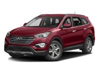 Options:  2016 Hyundai Santa Fe Se|Monaco White/|V6 3.3