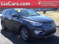 2016 Hyundai Santa Fe in Night Sky Pearl, 1 Owner!, And