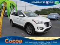Clean Carfax - 1 Owner. Santa Fe SE, 4D Sport Utility,