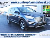 Our 2016 Hyundai Santa Fe SE is the stylish AWD family