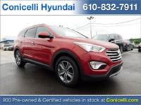 PREMIUM & KEY FEATURES ON THIS 2016 Hyundai Santa Fe