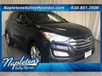 ** 2016 Hyundai Santa Fe Sport in Blue AURORA