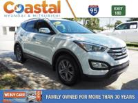 This 2016 Hyundai Santa Fe Sport 2.4 Base in Frost