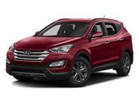 2016 Hyundai Santa Fe Sport 2.4 Base EXCLUSIVE LIFETIME
